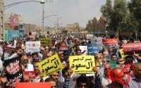 گزارش تصویری/ راهپیمایی محکومیت جنایات رژیم آل سعود