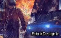"""دانلود PSD پوستر """" آخرین حمله """" + آموزش ساخت"""